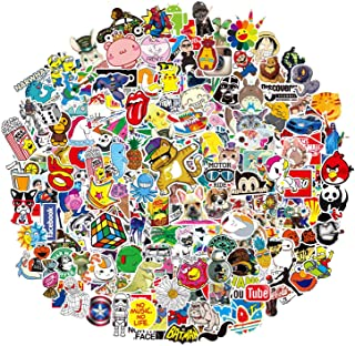 200-Pcs Featured Stickers,Suitable for Children and Adults of All Ages, Decals Vinyls for Laptop,Kids,Cars,Motorcycle,Bicycle,Skateboard Luggage,Bumper
