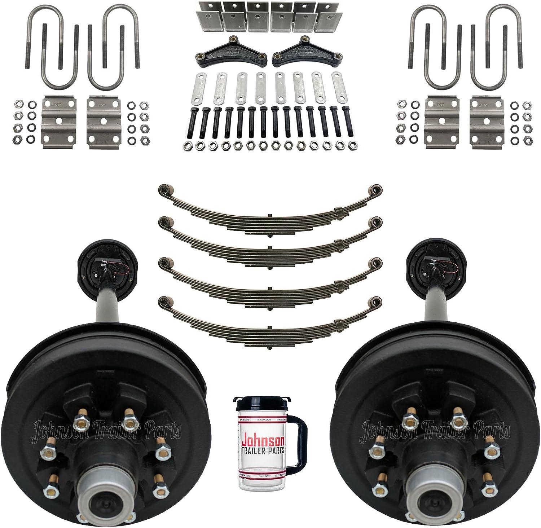 Rockwell Ultra-Cheap Deals American Ranking TOP3 Tandem 7 000 lb Ki Brake Trailer Axle Electric