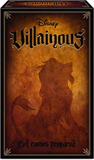 Ravensburger 26890 Disney Villainous Evil Comes Prepared, Versión en Español, Juego de Light Strategy y Familiar, 2-3 Juga...