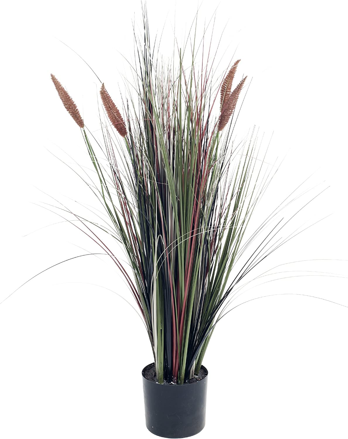 Pure Garden 50-10013 Ornamental Artificial Cattail Grass Tall 4 Sale Special Price 2021new shipping free