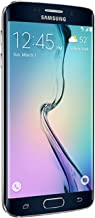 Samsung Galaxy S6 Edge SM-G925V 32GB Sapphire Black Smartphone Verizon (Renewed)