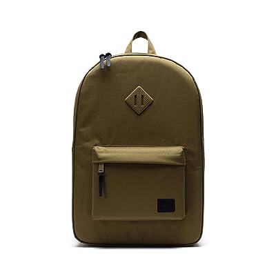 Herschel Supply Co. Heritage (Khaki Green) Backpack Bags
