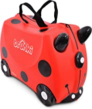 Trunki  Maleta correpasillos y equipaje de mano infantil: Mariquita Harley  (Rojo)