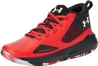 Under Armour Unisex kinderen Gs Lockdown 5 lichte en ademende basketbalschoenen voor dames en heren, responsieve sportscho...