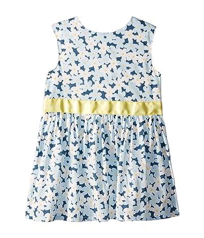 Toobydoo Party Dress (Toddler/Little Kids/Big Kids) (Blue) Girl