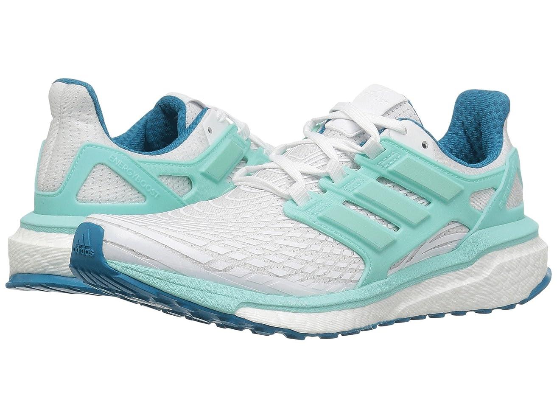 野生牧草地ヒューバートハドソン(アディダス) adidas レディースランニングシューズ?スニーカー?靴 Energy Boost Footwear White/Energy Aqua/Mystery Petrol 8 (25cm) B - Medium