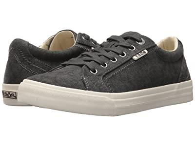 Taos Footwear Plim Soul (Charcoal Wash Canvas) Women
