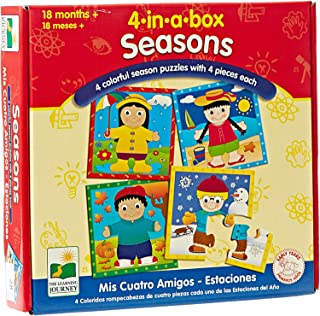 The Learning Journey 4-in-a-Box Seasons Puzzle