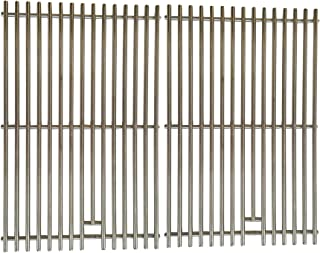 Stainless Grates for Charmglow 7400, 810-2200-0, 810-2300-B, 810-2320-B, 810-6320-B, 810-6320-C, 810-7310-F, 810-7310-S, Gas Grill Models, Set of 2