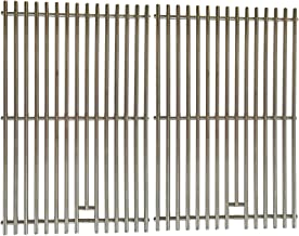 Stainless Steel Cooking Grates for Broil King 989684, 989687 GrillPro 226454, 236464, Broil-Mate 785964, 786164, 786167, 786184, 786187, 786189, Gas Models, Set of 2