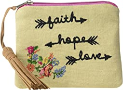 Faith Hope Love Coin Purse