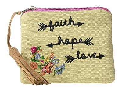 M&F Western Faith Hope Love Coin Purse (Tan) Coin Purse