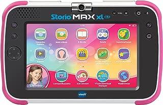 Vtech 80-194654 Storio MAX XL 2.0 粉色学习平板电脑儿童平板电脑,彩色
