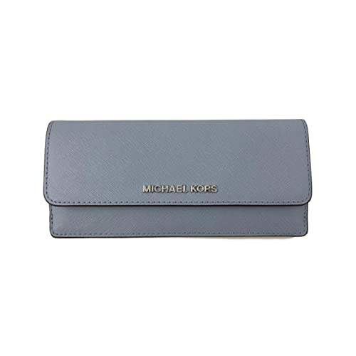 6677c5f891366e Michael Kors Jet Set Travel Flat Saffiano Leather Wallet