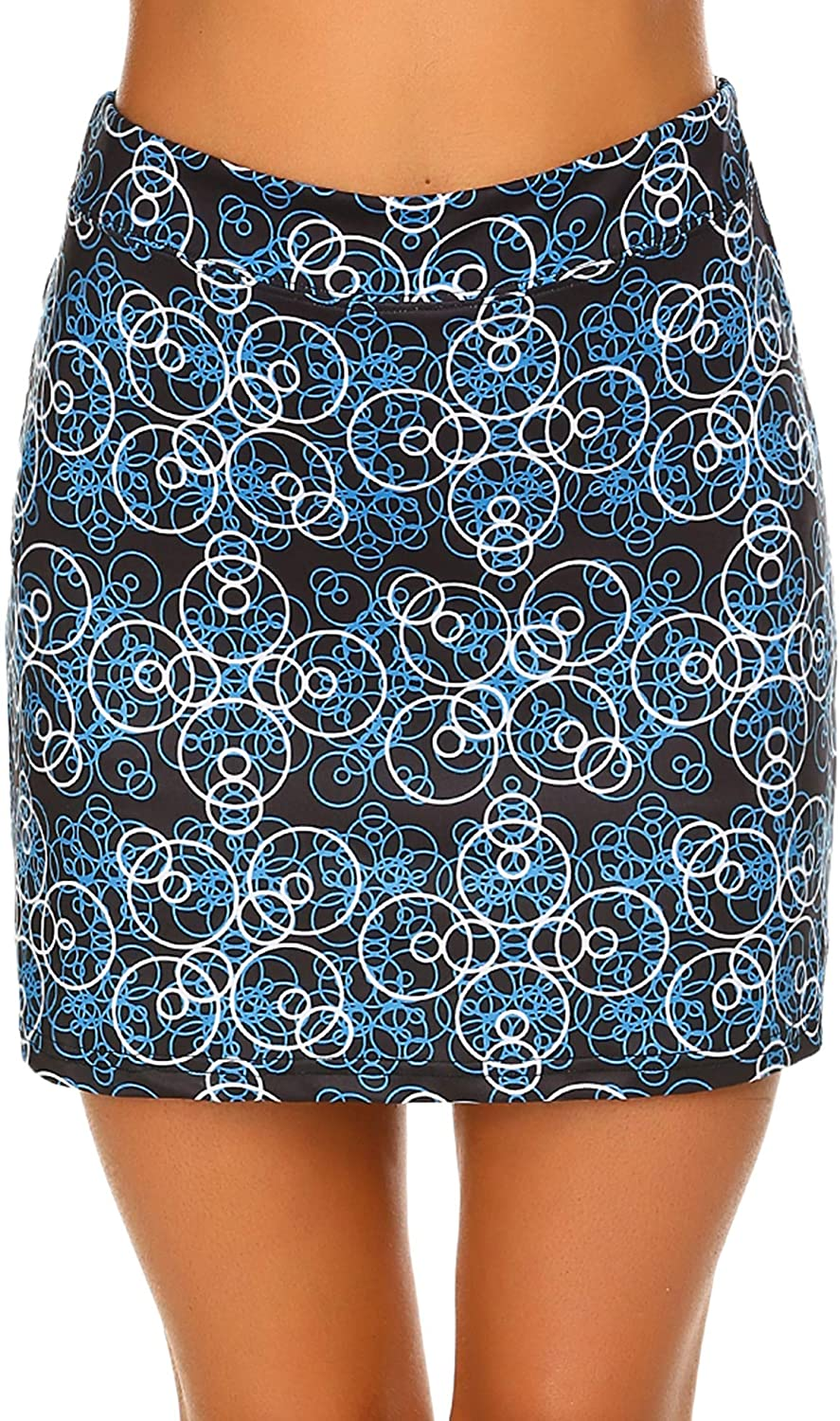 Ekouaer Women's Skorts Pleated Cute Pocket Skirts Tampa Mall with Limited time cheap sale Solid Col