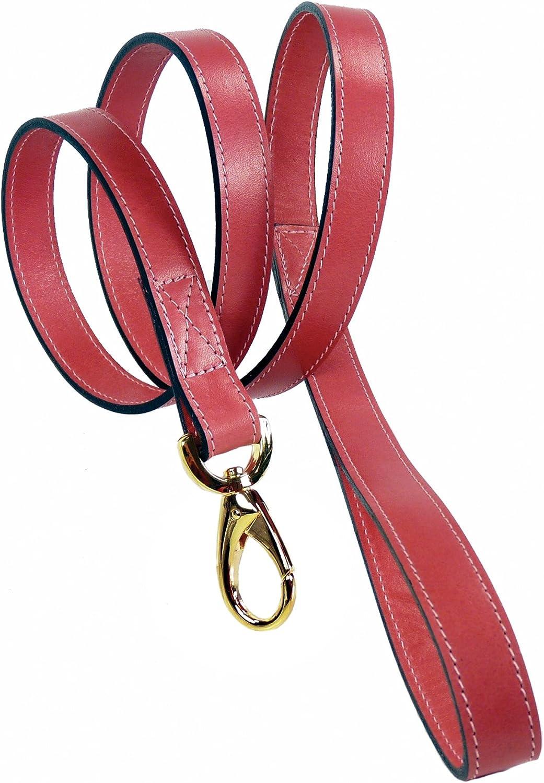 Hartman & pink 13468 Regency Dog Lead, 3 4Inch, Petal Pink