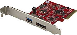 2-Port USB 3.1 Gen 1(10Gbps) and eSATA(6Gbps) PCIe Card - PCI Express Controller Card - 1x USB-A and 1x eSATA (PEXUSB311A1E)