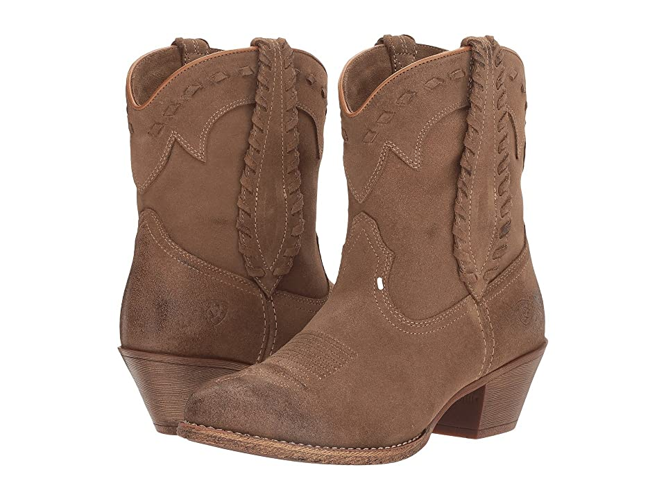 Ariat Round Up Rianda (Relaxed Bark) Cowboy Boots