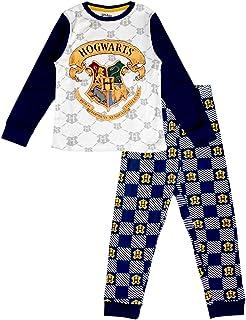 Pijama de algodón de manga larga para niños y adolescentes de Harry Potter