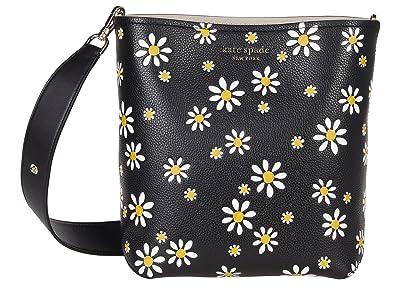 Kate Spade New York River Daisy Dots Medium Bucket Bag