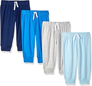 Amazon Essentials Boys' 4-Pack Pull-on Pant