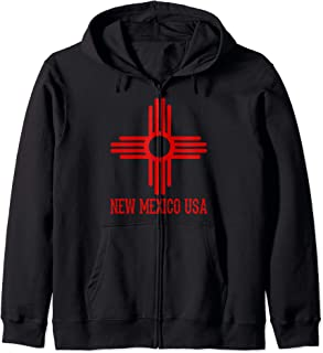 New Mexico USA Men Women Adult Teen Youth Kid Boy Girl Gift Zip Hoodie
