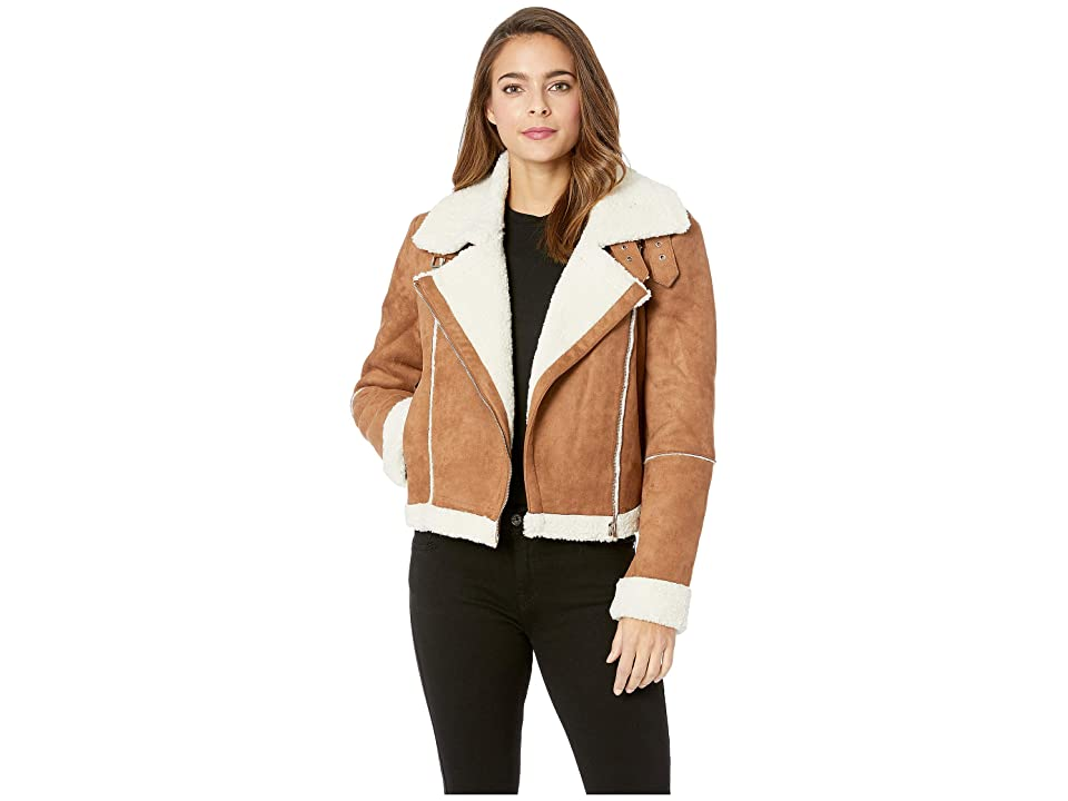 ASTR the Label Quincy Jacket (Caramel/Ivory) Women