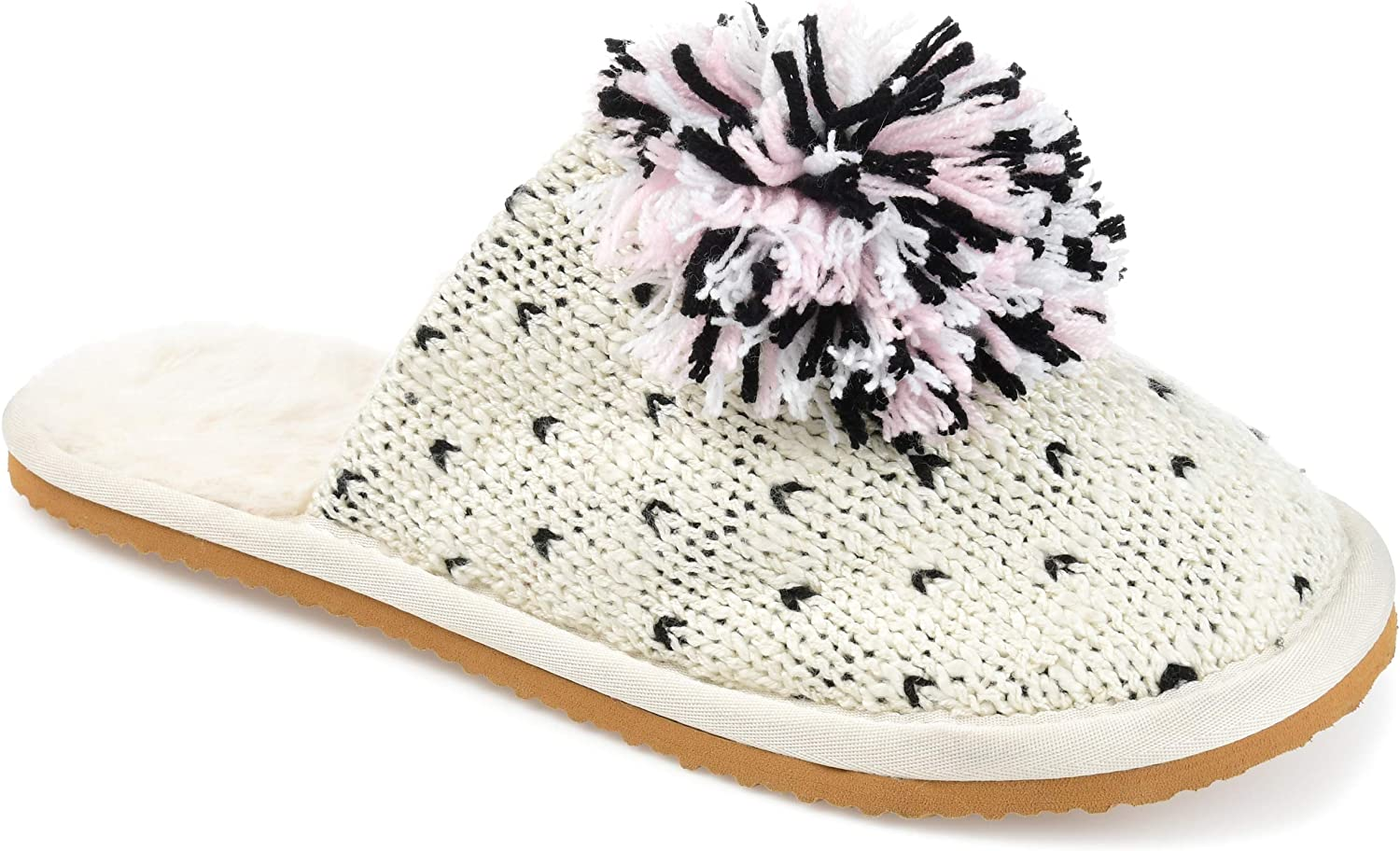 Journee Collection 2021 Oakland Mall new Slippers Women's