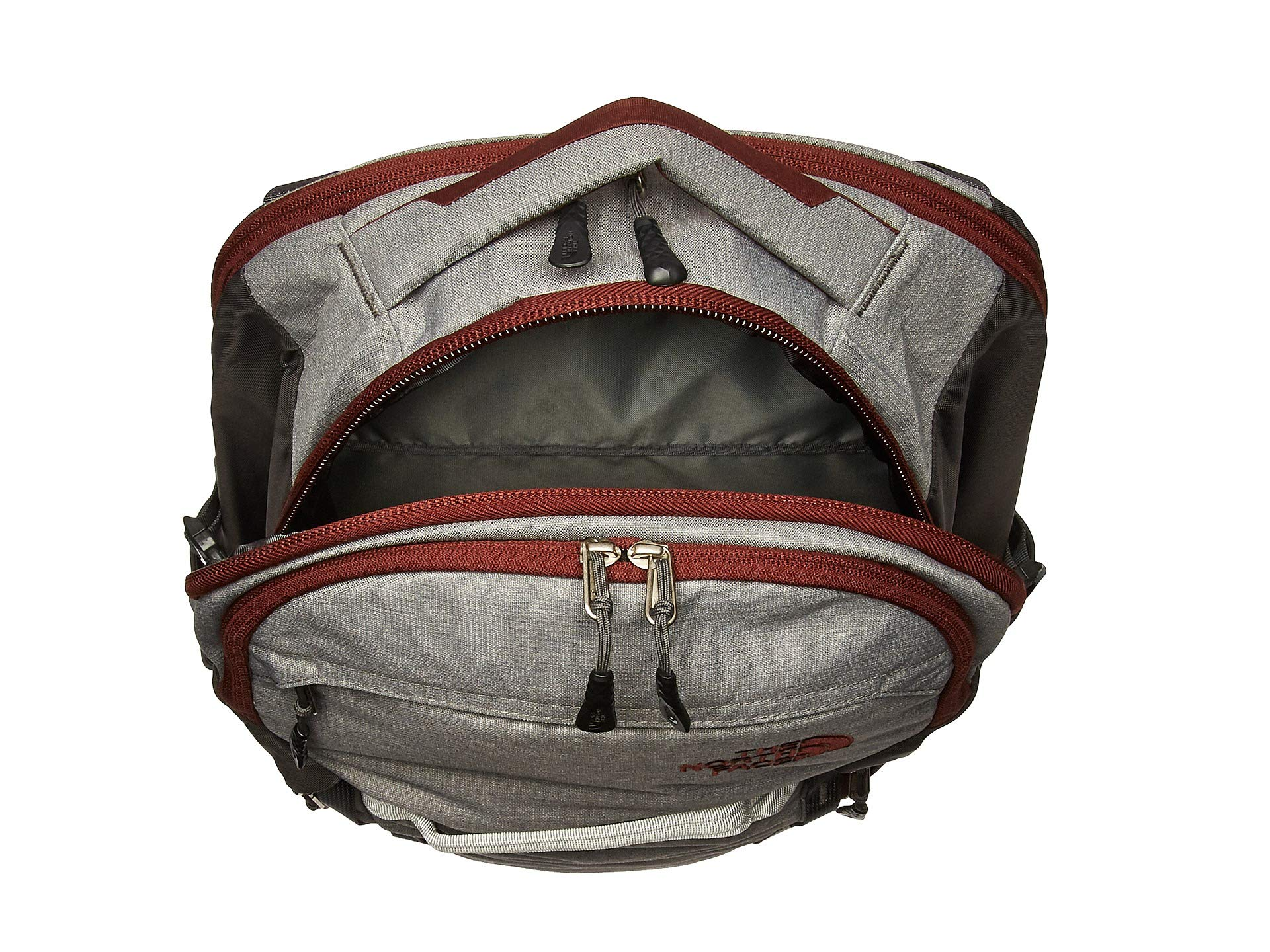 sequoia Grey Oxford Red Zinc The Face Slub North Surge Backpack wSxwOX78