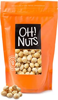 Sponsored Ad - Oh! Nuts Oven Roasted Macadamia Nuts | Dry-Roast, Unsalted, & Gluten-Free | All-Natural, Additive-Free Heal...