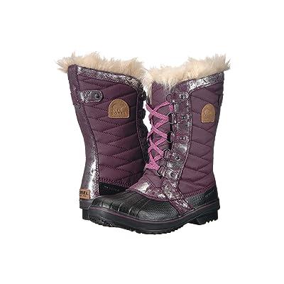 SOREL Kids Tofino II (Little Kid/Big Kid) (Purple Dahlia/Rosewater) Girls Shoes