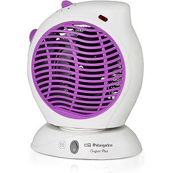 Orbegozo FH 5580 Calefactor, 2000 W, Morado: Amazon.es: Hogar