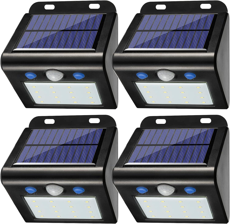 SAATLY Solar Motion Import Sensor Light Max 45% OFF L Flood Wireless Outdoor