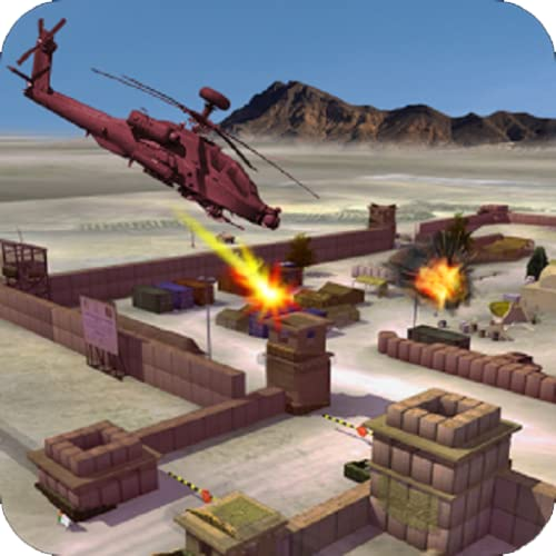 Heli Gunship Strike Battle