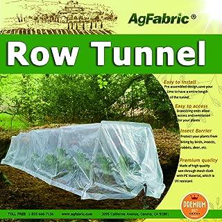 Polyethylene Grow Tunnel 10ft Longx 25