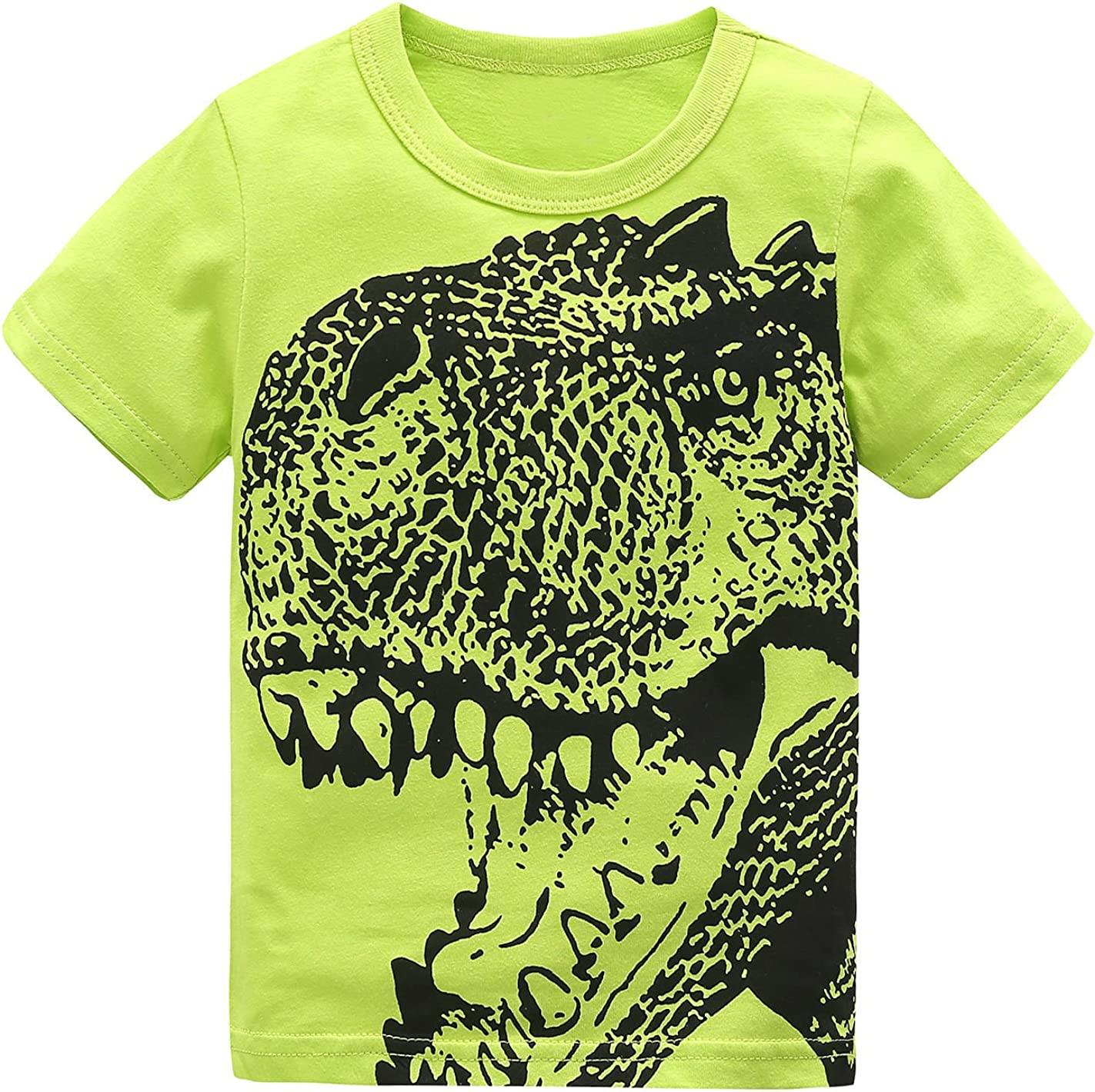 HowJoJo Boys Fixed price for sale Dinosaur T Shirts Graphic Shirt Cotton Genuine Sleeve Long