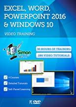 Microsoft Excel, Word, Powerpoint 2016 and Windows 10 - 30 Hours of Video Training Tutorials