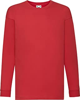 a7ad80993 Amazon.co.uk: Red - Long Sleeve Tops / Tops, T-Shirts & Shirts: Clothing