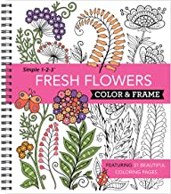 Download Book Color & Frame Coloring Book - Fresh Flowers PDF