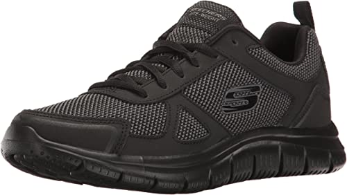 Skechers Hommes's Track Bucolo Training chaussures,noir,US 10 W