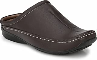 Andrew Scott Men's Synthetic Leather Casual Mule
