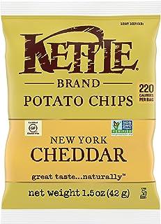 Kettle Brand Potato Chips, New York Cheddar, 1.5 oz