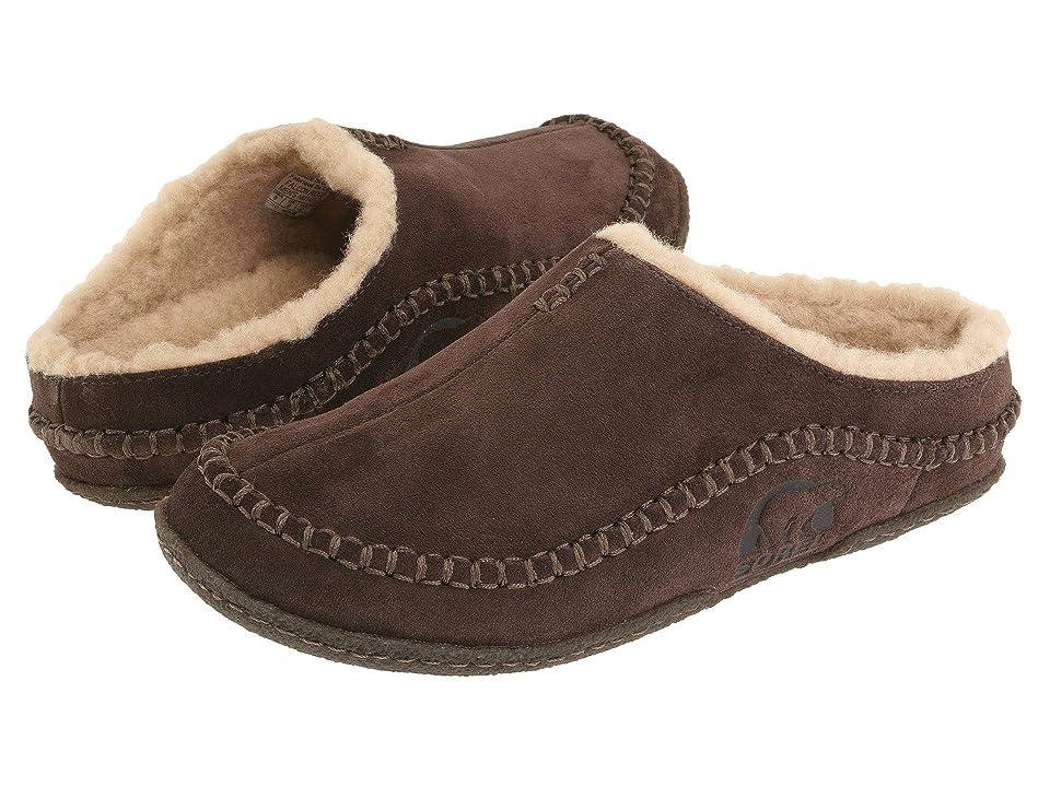 SOREL Falcon Ridge (Bark) Men's Slip on  Shoes