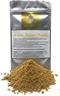 Arnica Flowers Powder - 100% Organic & Natural Centuries-old Ayurveda - Powdered Arnica Flowers / Arnica Montana also know...