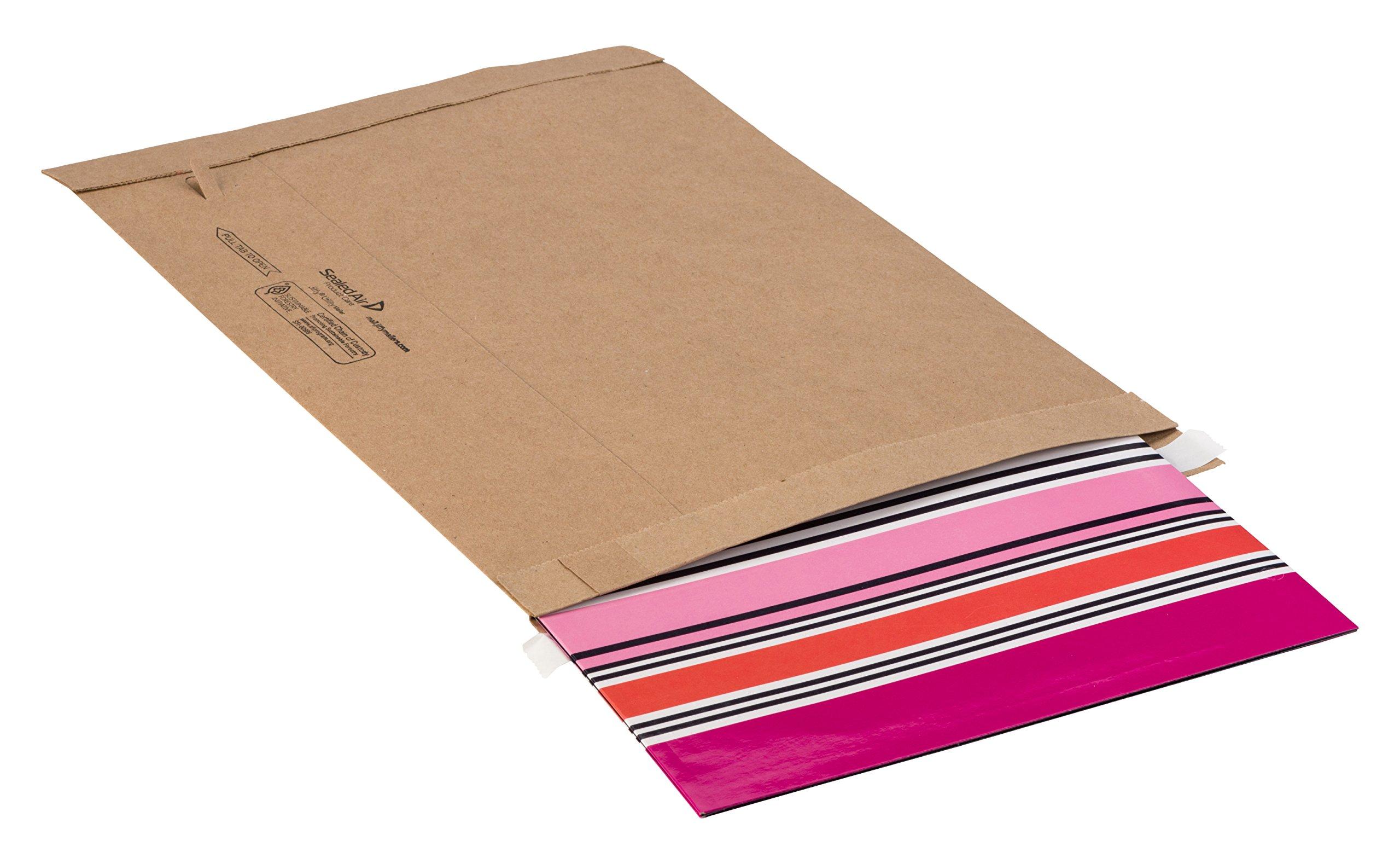 Jiffy Utility Mailer Natural Kraft Self Seal Mailer 65627#5 10-1//2 x 16 Pack of 250