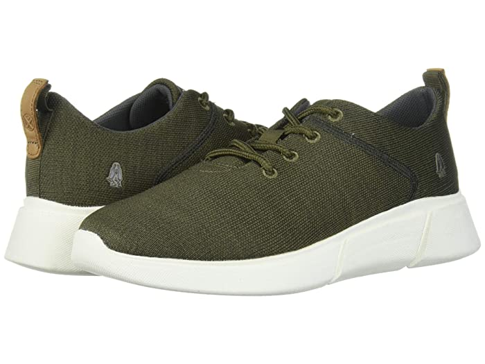 Hush Puppies  Cooper Lace-Up (Olive Heathered) Mens Shoes