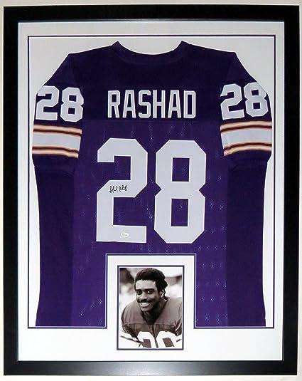 Ahmad Rashad Signed L Minnesota Vikings Jersey - JSA COA ...