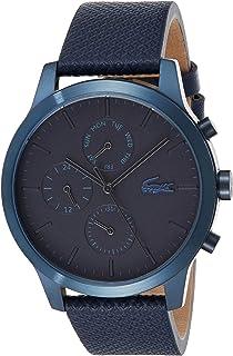 Lacoste Men's Multi dial Quartz Watch with Leather Strap 2010998