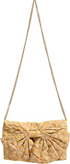 Red Valentino Women's Daisy Print Bow Decorated Clutch Shoulder Bag
