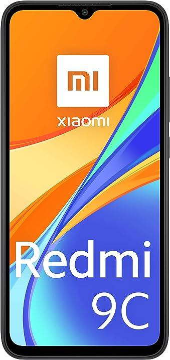 Smartphone xiaomi redmi 9c 3 gb + 64 gb 6.53
